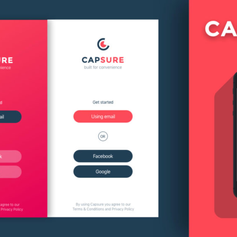 Capsure_Concept Logo & Splash