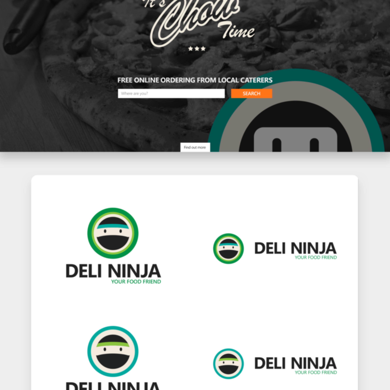 Deli Ninja_Webpage & Logo Design