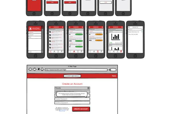 Manalto_Simple Native App & Web Login & Dashboard